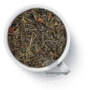 Чай Gutenberg зеленый ароматизированный Клубника (сенча)