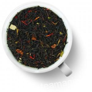 Чай Gutenberg черный ароматизированный Клубничный десерт